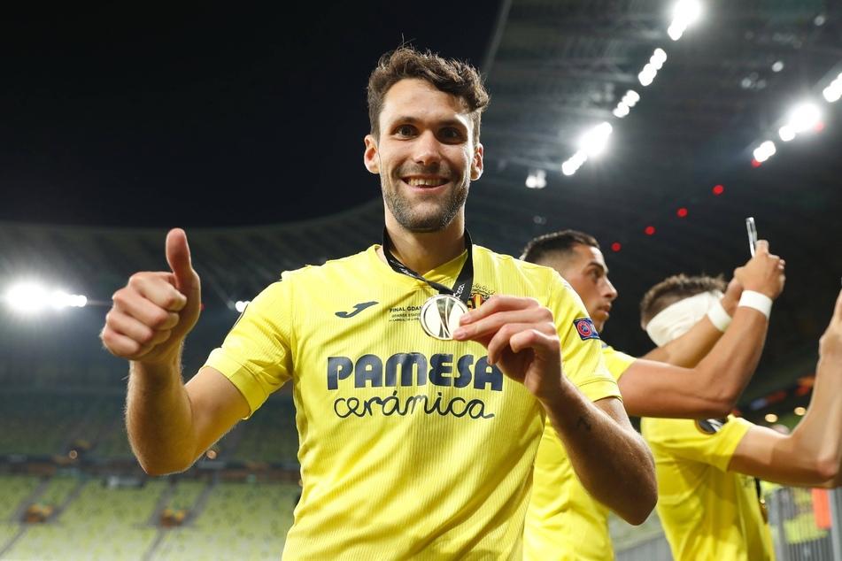 Alfonso Pedraza (25) konnte sich mit dem FC Villarreal den Titel der Europa League sichern. Mit RB Leipzig würde er in der kommenden Spielzeit Champions League spielen.