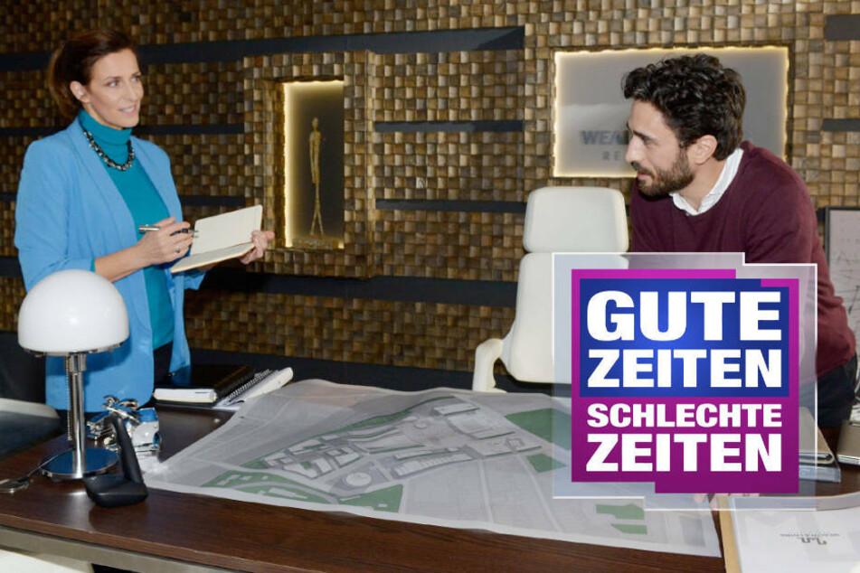 Berlin: GZSZ: Wird es endlich ernst zwischen Katrin und Tobias?
