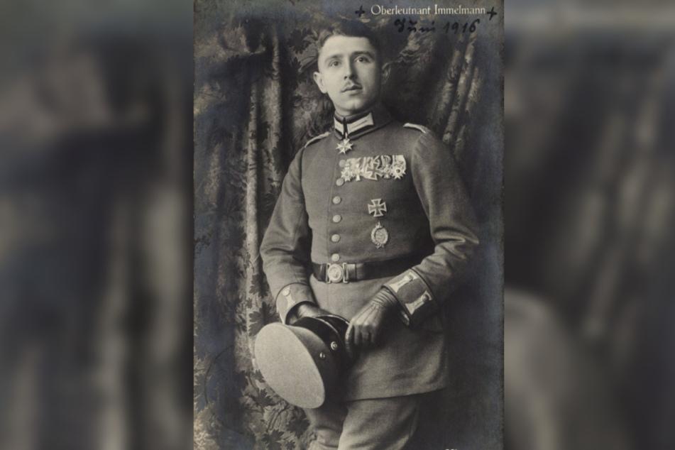 Max Immelmann (1890-1916) war ein berühmter Jagdflieger im Ersten Weltkrieg.