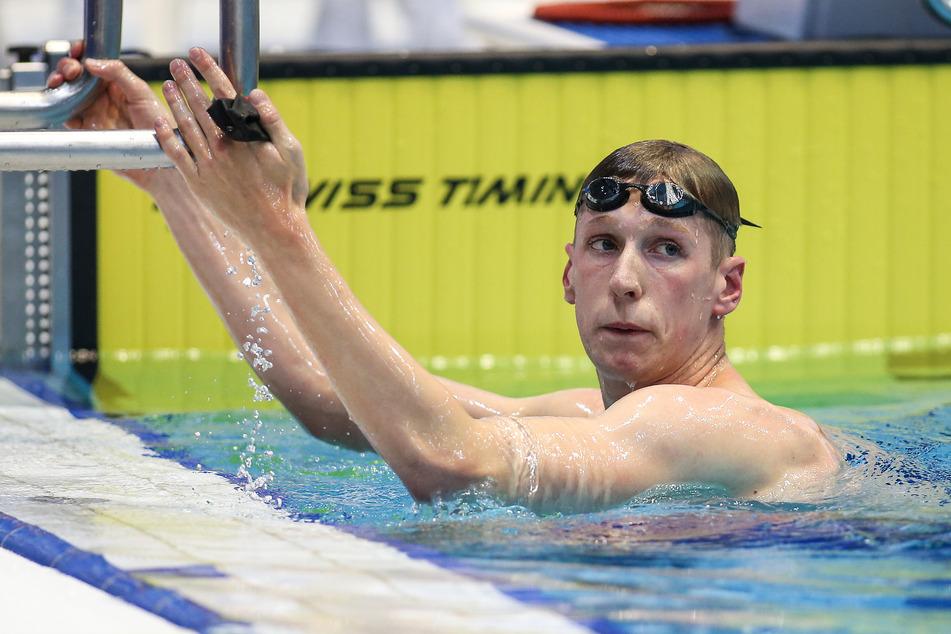 Schwimm-Weltmeister Florian Wellbrock will sich auf keinen Fall mit Corona infizieren.